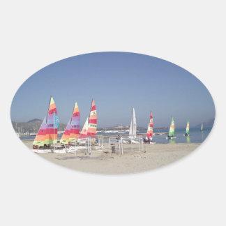 Sailing Away Sticker