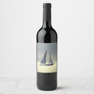 Sailing Away Wine Label