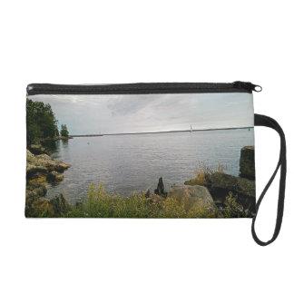 sailing away wristlet purse