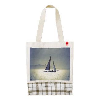 Sailing Away Zazzle HEART Tote Bag