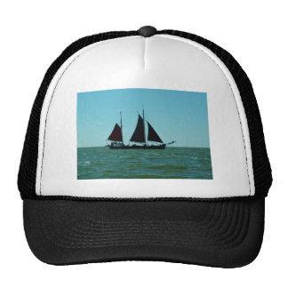 Sailing barge trucker hat