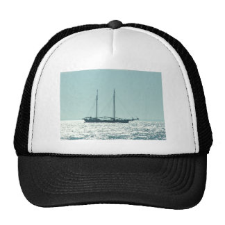 Sailing Barge In The Sun Mesh Hat