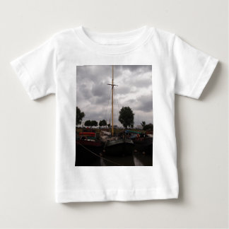 Sailing Barge On A Grey Day Baby T-Shirt