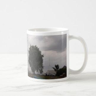 Sailing Barge On A Grey Day Coffee Mug