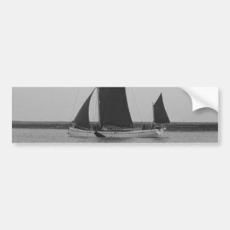 Sailing Barge Reminder Bumper Sticker