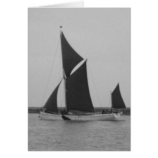 Sailing Barge Reminder Card