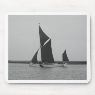 Sailing Barge Reminder Mouse Pad