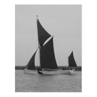 Sailing Barge Reminder Postcard