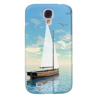 Sailing boat - 3D render Samsung Galaxy S4 Cover