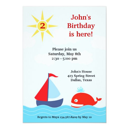 Unique Birthday Invitations with awesome invitation example