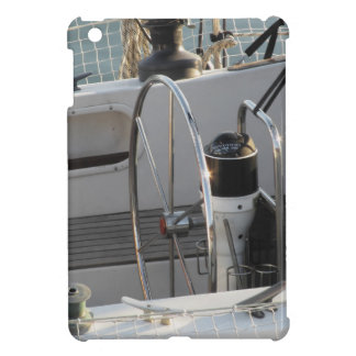 Sailing boat control wheel and navigation implemen iPad mini case