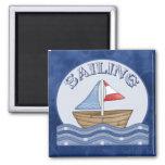 Sailing Boat Fridge Magnets