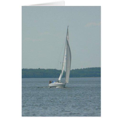 Sailing Boat Greeting Cards