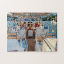 Sailing Boat Grenada Caribbean. Jigsaw Puzzle