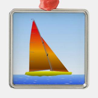 Sailing Boat - Sailing ship (03) Metal Ornament