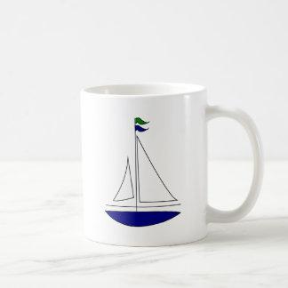 sailing-boat vacation friend family coffee mug