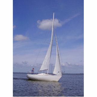 Sailing Boat - Voilier (06) Escultura Fotográfica