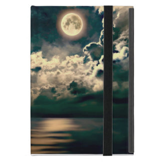 Sailing boat with full moon powiscase iPad mini cases