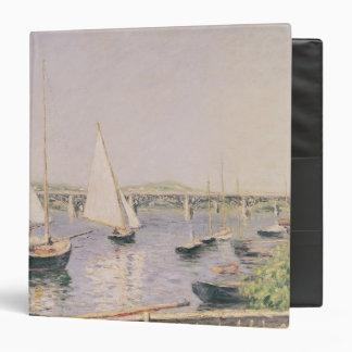 Sailing boats at Argenteuil, c.1888 3 Ring Binder