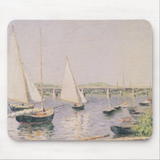 Sailing boats at Argenteuil, c.1888 Mouse Pad