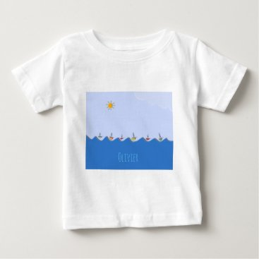 Sailing boats baby T-Shirt