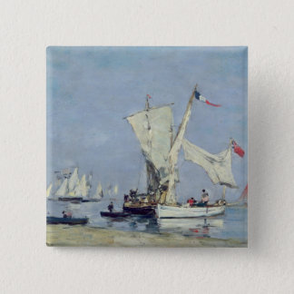 Sailing Boats, c.1869 Button