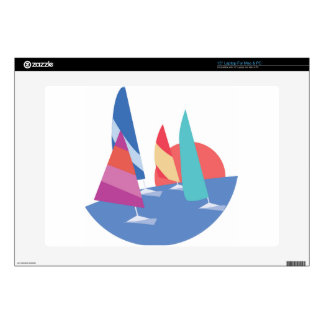 Sailing Boats Decals For Laptops