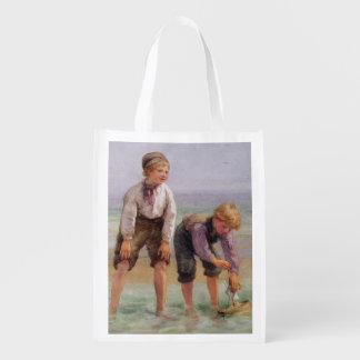 Sailing Boats Grocery Bag