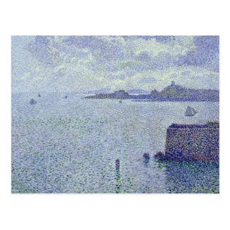 Sailing Boats in an Estuary, c.1892-93 Postcard