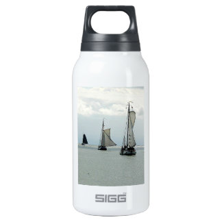 Sailing Boats Insulated Water Bottle