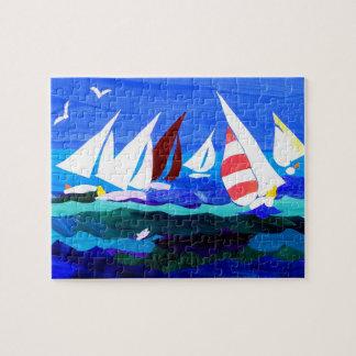 'Sailing Boats' Jigsaw Puzzle