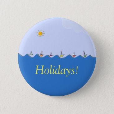 Sailing boats on Holidays button