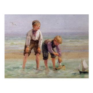 Sailing Boats Postcard