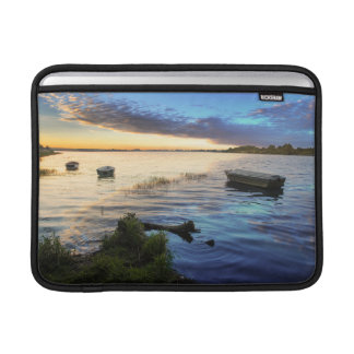 Sailing Boats Reflection From The Sunset MacBook Air Sleeve