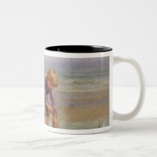 Sailing Boats Two-Tone Coffee Mug