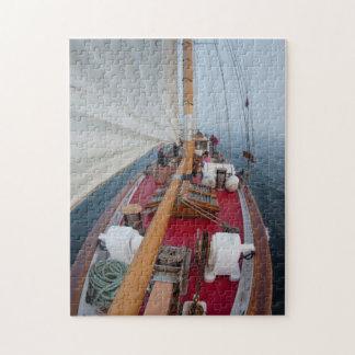 Sailing Boundary Pass Jigsaw Puzzle