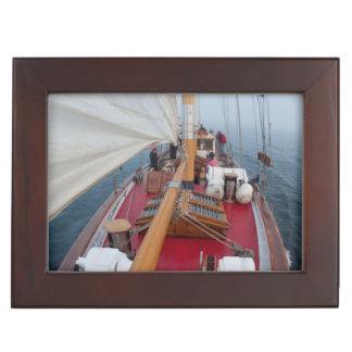 Sailing Boundary Pass Keepsake Box