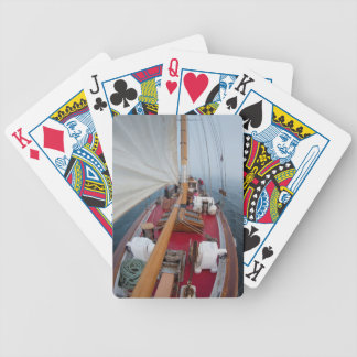 Sailing Boundary Pass Bicycle Playing Cards