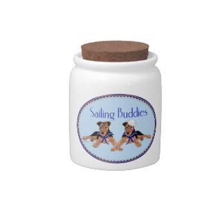 Sailing Buddies Candy Jars