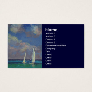 Sailing Business Card