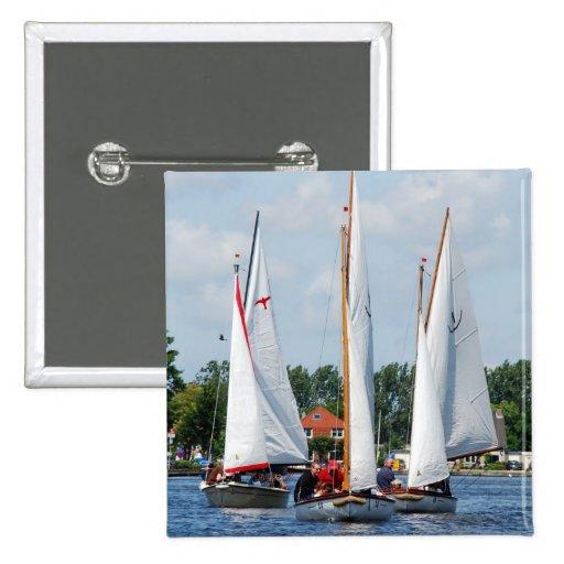 Sailing Pinback Buttons
