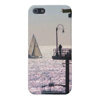 Sailing by Santa Monica iPhone 5 Covers