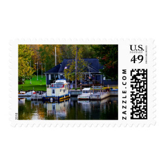 Sailing By The Brewerton Area Along The Erie Postage