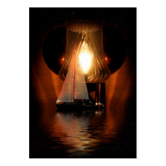 Sailing By The Lantern Light Large Business Cards (Pack Of 100)