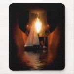 Sailing By The Lantern Light Mousepad