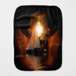 Sailing By The Light of the Lantern Burp Cloth