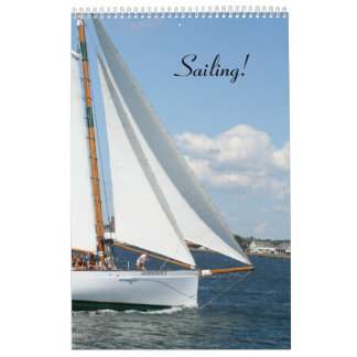 Sailing Calendar!  2013