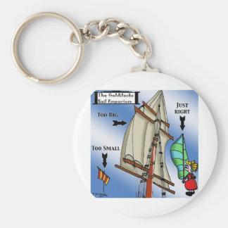 Sailing Cartoon 7511 Keychain