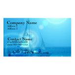 Sailing Catamaran Business Card