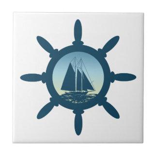 Sailing Ceramic Tile